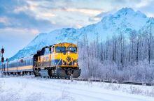 """美国阿拉斯加  极光号列车AURORA WINTER ROUTE  现实版的极地特快  """"阿拉斯加极"""