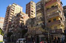 埃及压力山大街景