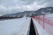 鳌山滑雪场  滑雪美滋滋