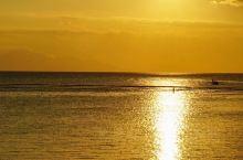 印尼旅行 | 圣吉吉海滩不可错过的一场夕阳与赶海体验  回程到酒店的时候,刚好能遇上一场圣吉吉的夕阳