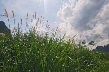 田园山野的徒步,视线无比开阔…心情很舒畅