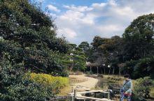 """与金泽市兼六园、水户市偕乐园并称为日本三大名园。总占地面积达13公顷,以起居室""""延养亭""""为中心分布有"""