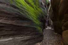 甘泉雨岔大峡谷,羚羊谷。