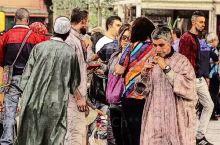 #旅行系列笔记# #北非摩洛哥&马拉喀什老城# #Marrakech不眠广场·杰马夫纳(jemaa