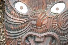 汉密尔顿大花园新西兰毛利人的图腾世界园林艺术。