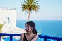 突尼斯|网红最爱去之#蓝白小镇 Sidi Bou Said# 突尼斯蓝白小镇算是必去的一个行程了,蓝