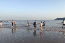 舟山的南沙沙滩