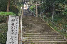 一千多年的佛寺,适合沉淀心灵的步行,上头还有丹生官符神社