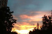 夕阳西下几时回,原相机拍摄无滤镜
