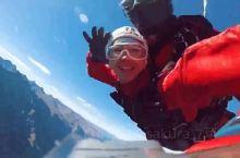 人生没有遗憾系列之~新西兰跳伞  我可以说跳伞是我一直想做而又没有机会做的事情吗?我心里的有两个最佳