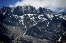 新西兰看到的山