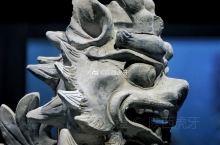 【唐彩绘镇墓兽】唐懿德太子墓出土,现藏于懿德太子墓博物馆