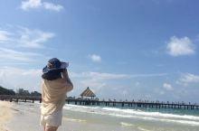 西哈努克的海滩真的很美