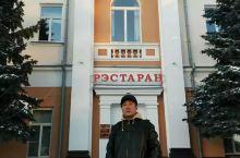 相册里翻出的照片:在白俄罗斯戈梅利洲火车站