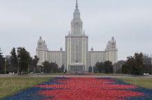 斯大林时期的七姐妹建筑之首莫斯科大学主楼