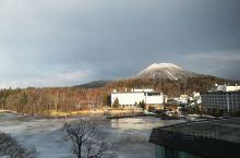 冰冻的阿寒湖,风景很美