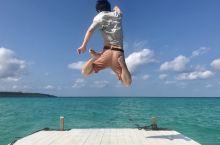 宮古島で平成ジャンプ!