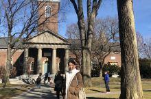 圆了二十年的梦,走在哈佛大学的校园里