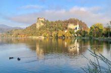 布莱德湖的清晨之一: 布莱德湖 Lake Bled, 世界最美的湖,周边环境优美,是人间天堂。位于斯