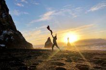 冰岛黑沙滩,网红打卡避开,运气爆棚,天气真心好~