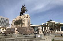 蒙古 乌兰巴托 成吉思汗广场