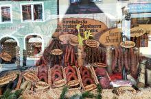 德国罗滕堡的美味肠子