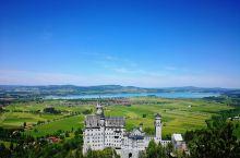 Neuschwanstein 新天鹅堡,巴伐利亚国王LudwigII建造的童话般的城堡,位于拜仁州南