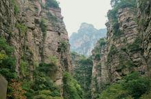 河南辉县郭亮村,南坪风景,体会壁挂公路,感受劳动人民创造的奇迹