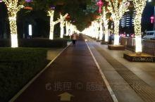 中国·江西·南昌县~澄湖健身步道灯光秀