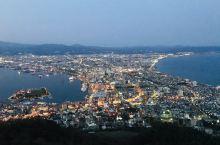 传说中的世界三大夜景之一:函馆之夜