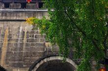 南门楼   阆中古城的南门楼,是古城里唯一可以免费登临的城楼。 登高望远,山峦起伏,江水环绕,山水相