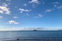 蓝色的海天