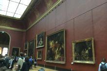 巴黎卢浮宫博物馆的油画作品太多太多值得去欣赏。