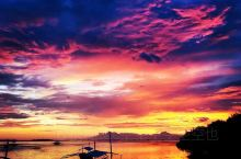 最美的薄荷夕阳