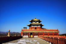 承德小布达拉宫,又称普陀宗乘之庙,好几年没来这里了,这次带朋友来转一圈,依然很棒的感觉,湛蓝的天空,