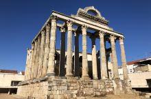梅里达的月亮女神庙遗址。