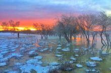 2020年元旦 乌兰布统来看雪。感受北国风光 千里冰封