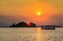 日出是成熟,日落是沉潜[愉快]盐洲岛