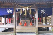 吉见神社,祭祀着白川水源的守护神,水源的水可以取水自饮,也可以加热饮用,有号称全日本最好喝的水,是为