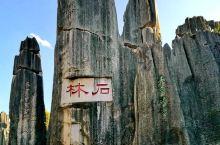 我的旅行足迹~云南石林 云南石林以石多似林而闻名,景区范围广阔,景点众多,有大小石林景区、黑松岩(乃