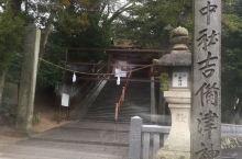 偶然的岡山遊,安靜的桃太郎神社。