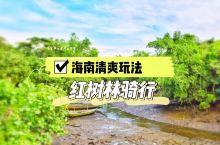 海南清爽玩法,红树林骑行  热辣辣的海南,要说骑行是不是都不敢想?但是!在八门湾红树林湿地,那可绝对