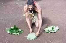 瓦努阿图黑魔法四,树叶把人抬起来