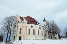 在靠近新鹅堡的一个教堂,漂亮!