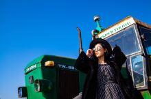 山东文登最适合拍摄人像的地方,废弃拖拉机成为网红打卡点