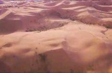 库布齐沙漠的一角——响沙湾景区