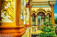 100多年的越南寺庙,精美和华丽让人动容 在湄公河的行程中,不可从过19世纪初就建成的永长寺。本来一