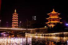 """夜游凤城,暗夜琉璃香 到泰州旅游想要赏尽夜色之美,""""夜游凤城河""""是不可或缺的。""""夜游""""一直被认为是泰"""