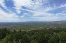 渭北高原,天高云淡。