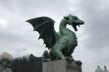 旧奥匈帝国19日自驾游 斯洛文尼亚—-卢布尔雅那(带注意事项)  因为大桥上的一座雕像,这个城市找到